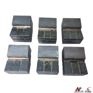 3 Layer 700BHN Wedge Carbide Replaceable Hammer Tips