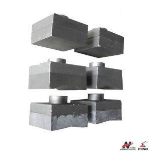 Bimetallic Domite 700BHN Hammer Tips