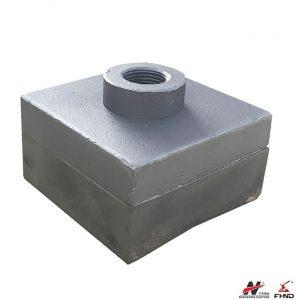 Bimetallic Shredder Hammer Tip For Sugar Mills