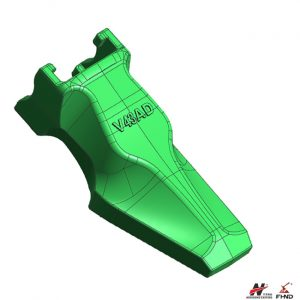 V43AD Spare Parts Bucket Points for Wheel Loaders