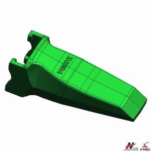 V43SDX SUPER V TEETH V43 Chisel Heavy Points