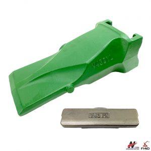 V43SYL SuperV Bucket Tooth and V43PN Vertilock Flex Pin