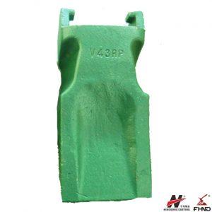 V43RP Rock Penetration Bucket Tooth for Wheel Loader