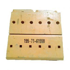 195-71-61550 Komatsu Bucket Center Cutting Edge