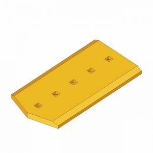 Komatsu 198-72-A1181 End Cutting Plates