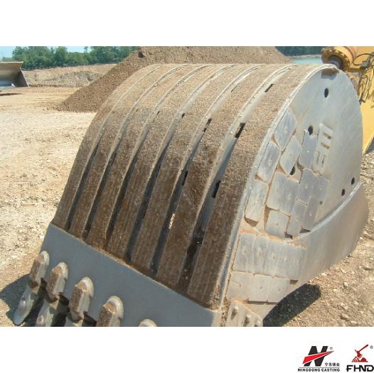 Excavator Bucket Solves the Problem of Bucket Wear